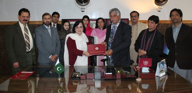 IWAA Women of Distinction Award (Canada) for Vice Chancellor, University of Swabi