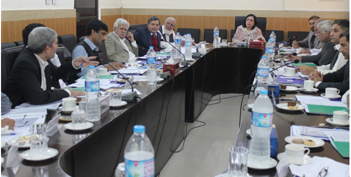 8th Meeting of the Syndicate of the University of Swabi