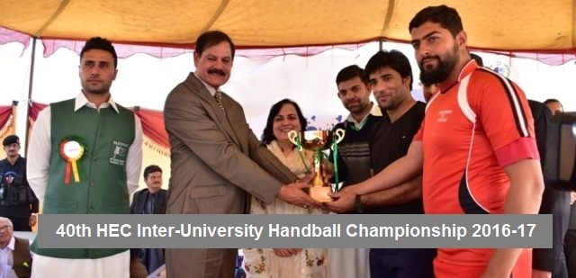 40th HEC Inter University Handball Championship