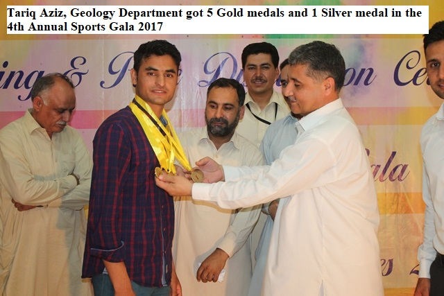 Tariq Aziz Won 5 Gold Medals and 1 Silver Medal at 4th Annual Sports Gala 2017