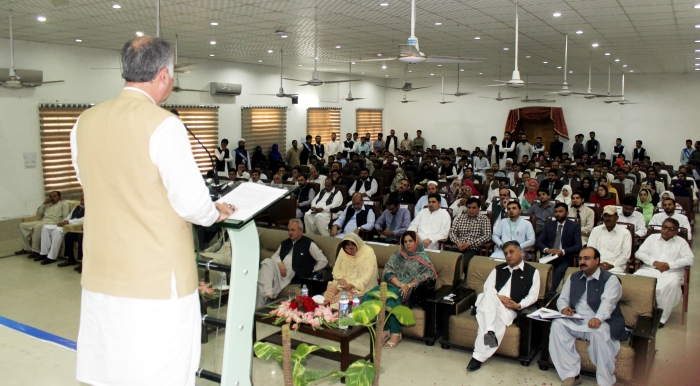 Vice Chancellor gave a speech discussing all of them excellent topics, that are absolutely essential to the future of higher education in the Pakistan and across the globe.