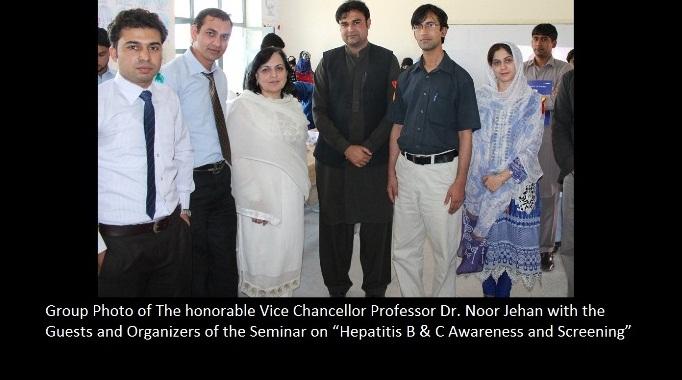 Department of Microbiology Organizes Seminar on Hepatitis B & C Awareness and Screening